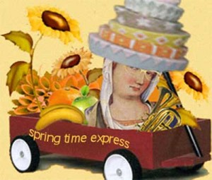 Spring Time Express leaving NOW! ~ By Janice Taylor, Weight Loss Artist