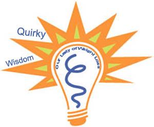 quirky wisdom lightbulb
