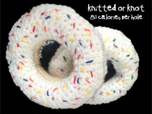 Knitted or Knot: 80 Calories Per Hole