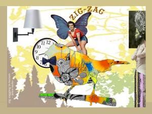 ZigZagging Thru Life, by Janice Taylor, Self-Help Artist, Positarian