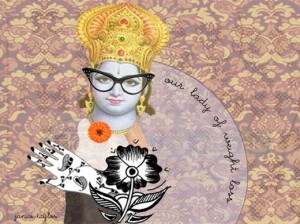 Our Lady of Perpetual Kindness by Janice Taylor, Self-Help Artist, Positarian