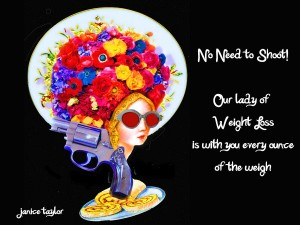Slim Down While You Laugh It Up ~ Janice Taylor, Life & Wellness Coach, Weight Loss Expert, Artist, Author, Positarian