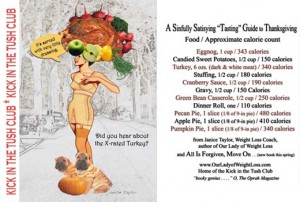 Sinfully Satisfying Thanksgiving? ~ Janice Taylor, Weight Loss Coach, Hypnotherapist, Artist, Author, Positarian