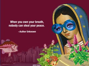 Ready to Breathe In Life? ~ contact Janice Taylor, Weight Loss SUCCESS Coach, Hypnotherapist, Author, Artist, Positarian