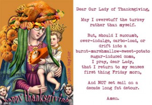 Thanksgiving Prayer, collage by Janny Taylor, Creative Life Coach.